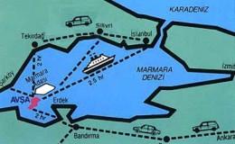 Avşa Adası Ulaşım Yolları